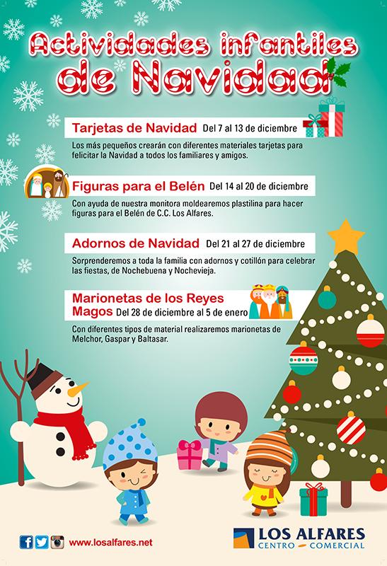 Talleres infantiles de navidad - Centro Comercial Los Alfares