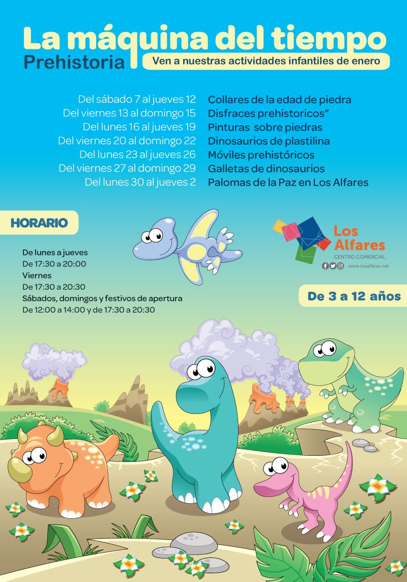 los_alfares_actividades_infantiles_enero_cartel